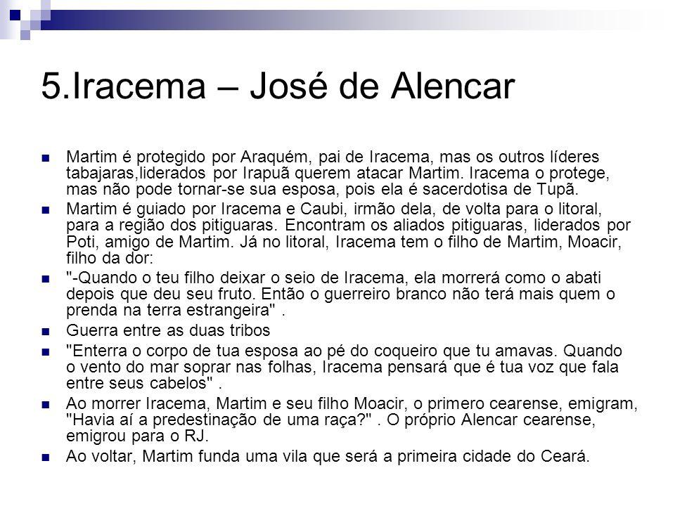 5.Iracema – José de Alencar