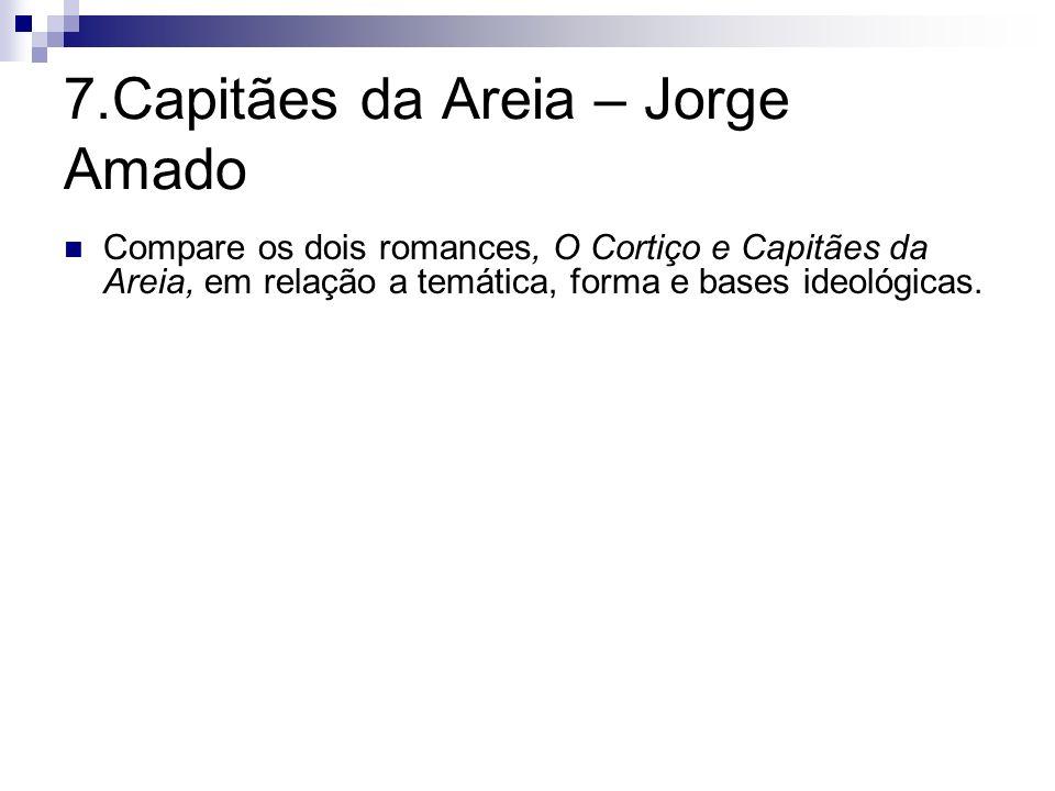 7.Capitães da Areia – Jorge Amado