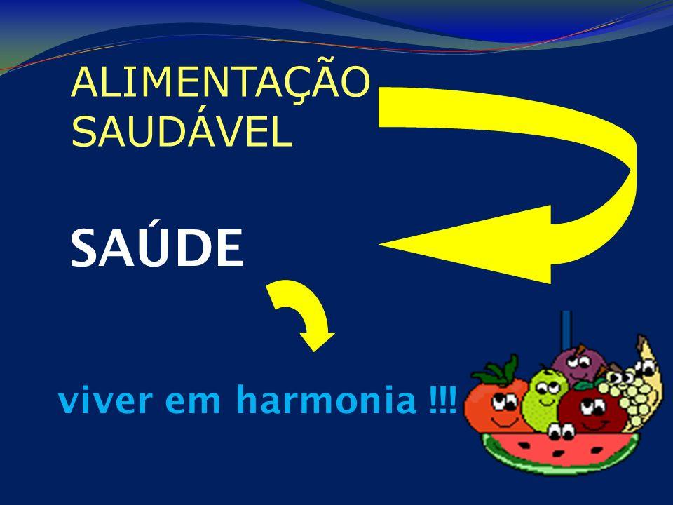 ALIMENTAÇÃO SAUDÁVEL SAÚDE viver em harmonia !!!