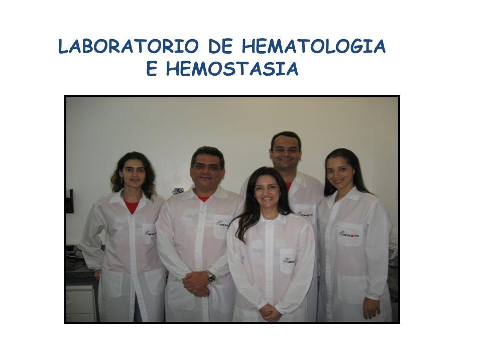 LABORATORIO DE HEMATOLOGIA E HEMOSTASIA