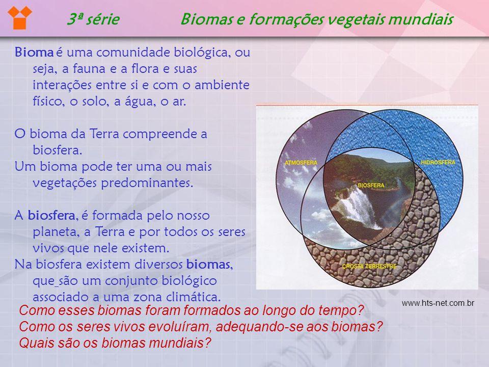 3ª série Biomas e formações vegetais mundiais