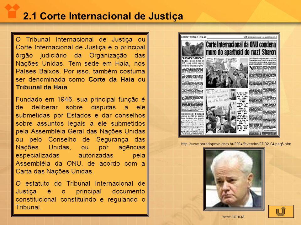 2.1 Corte Internacional de Justiça