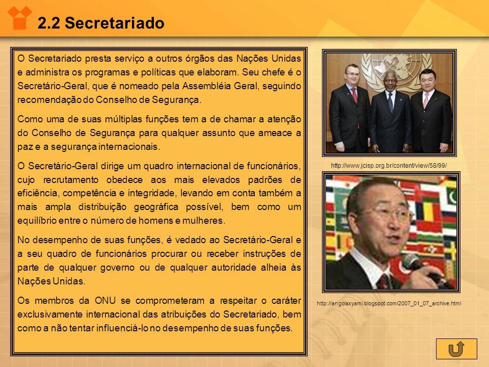 2.2 Secretariado