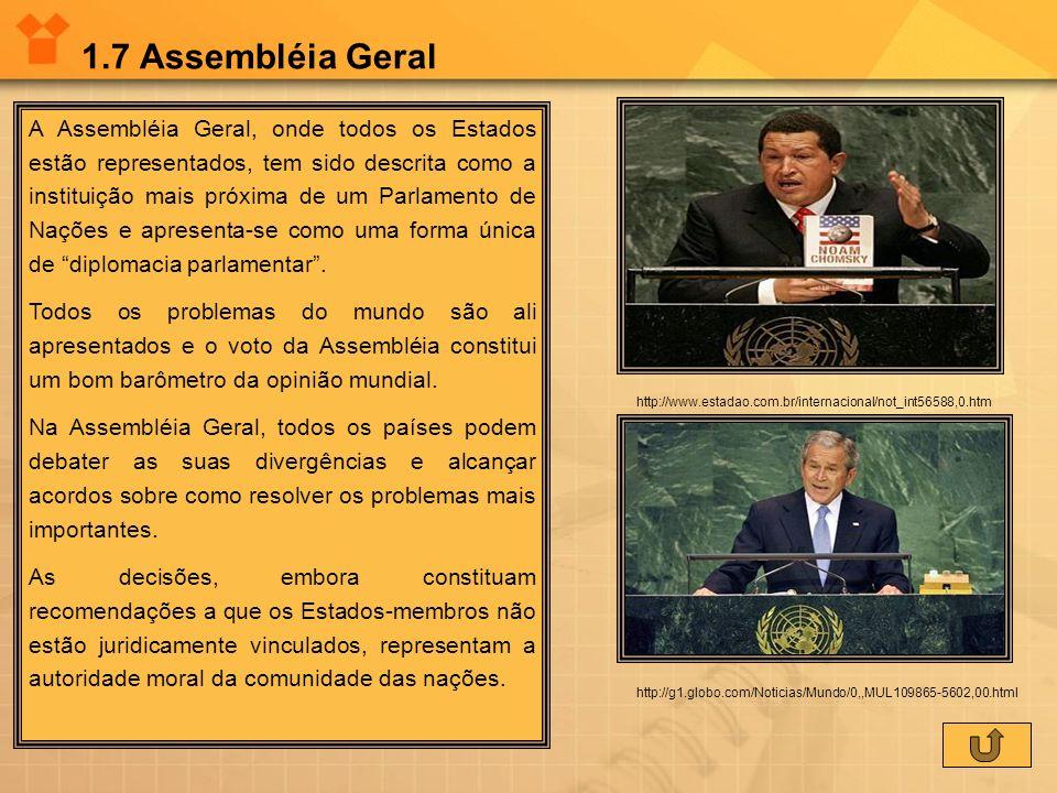 1.7 Assembléia Geral