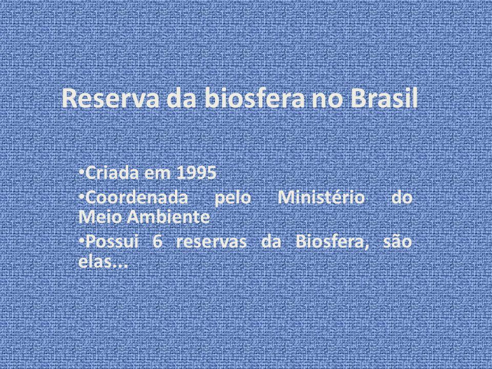 Reserva da biosfera no Brasil