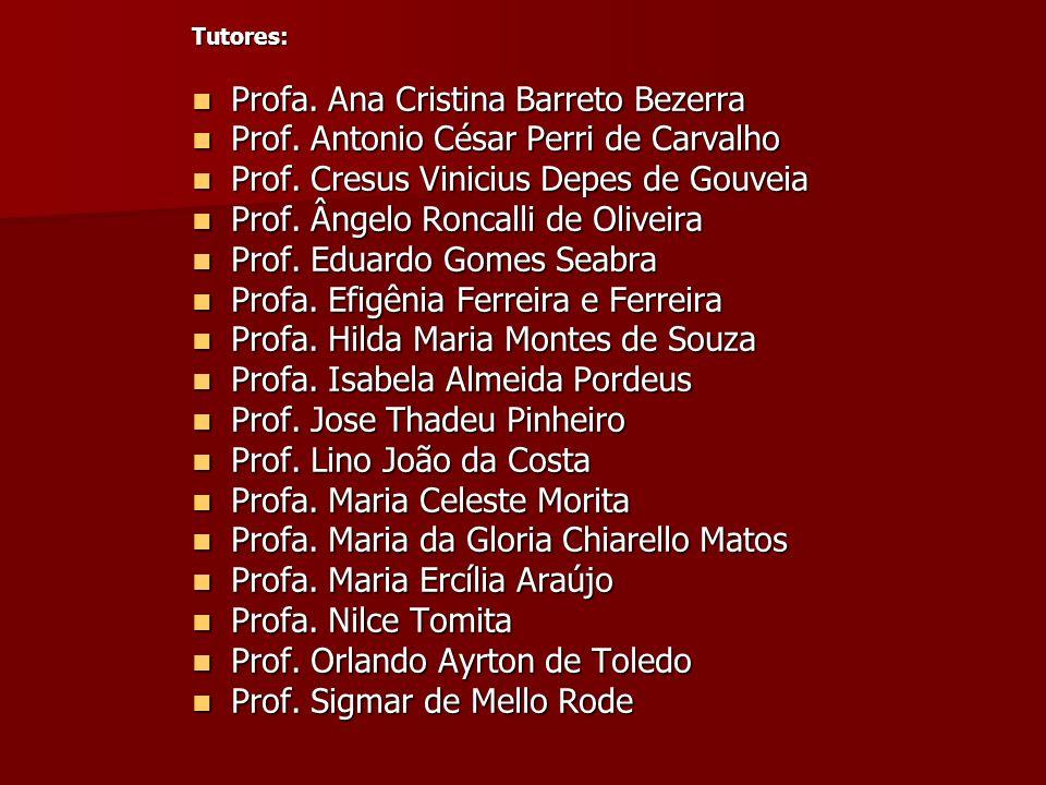 Profa. Ana Cristina Barreto Bezerra