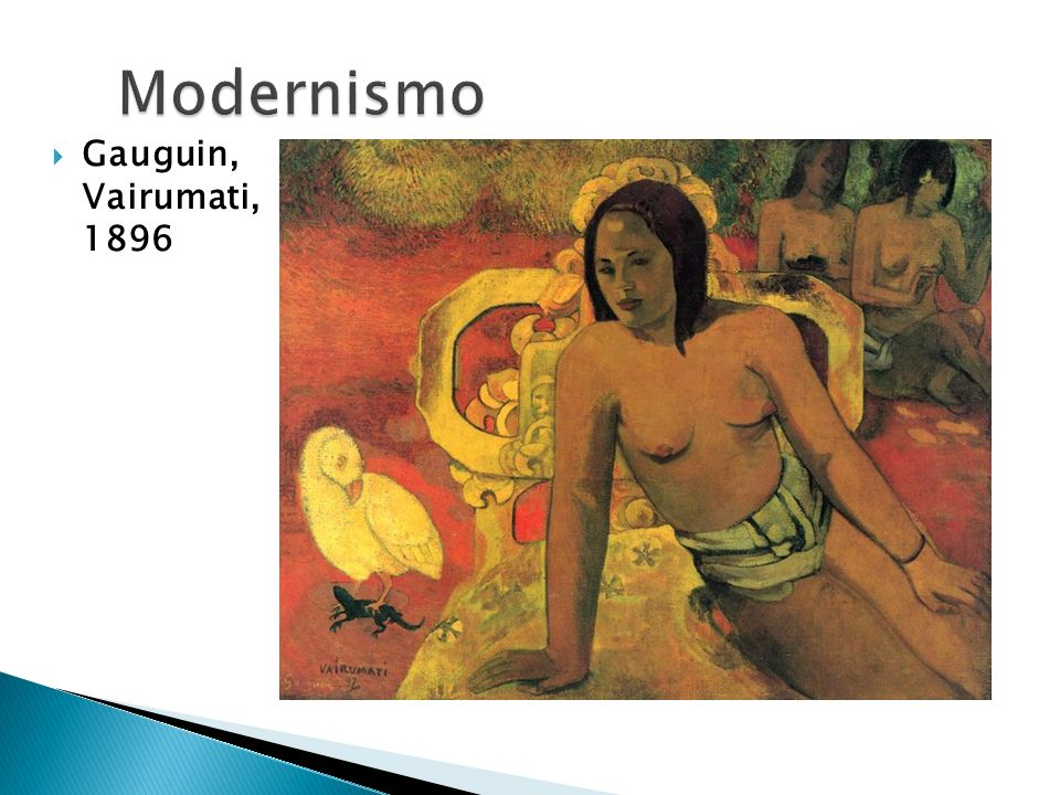 Modernismo Gauguin, Vairumati, 1896