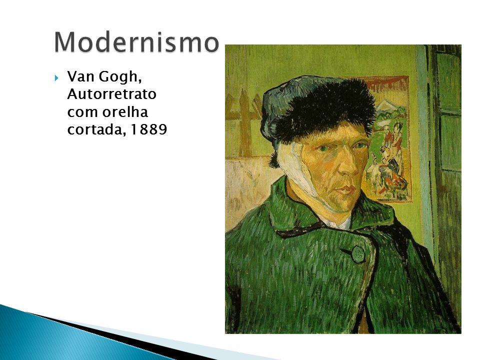 Modernismo Van Gogh, Autorretrato com orelha cortada, 1889