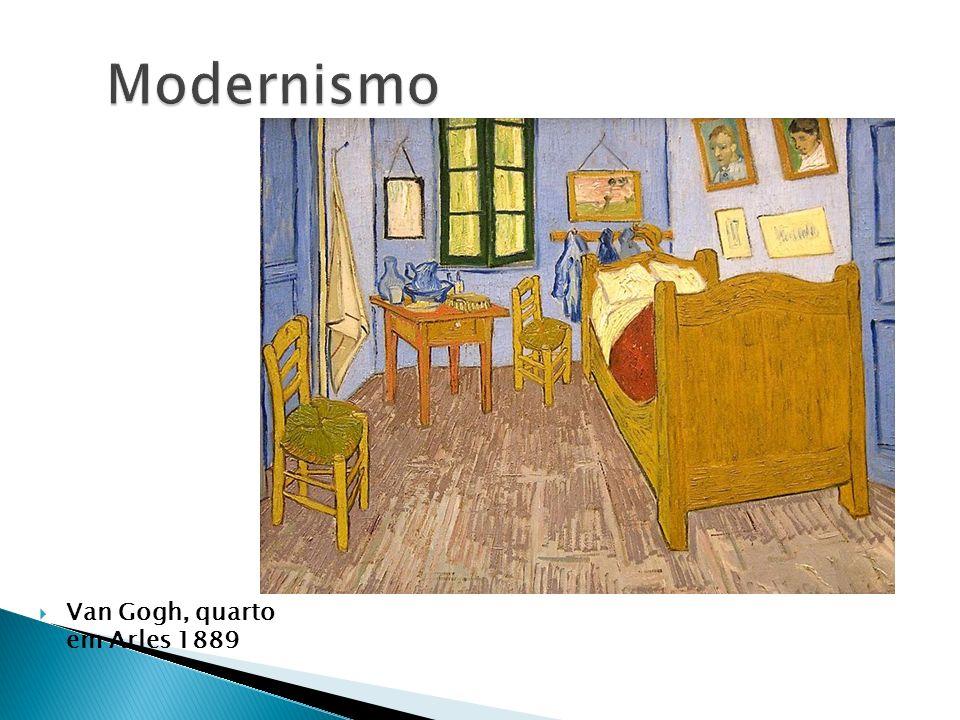 Modernismo Van Gogh, quarto em Arles 1889
