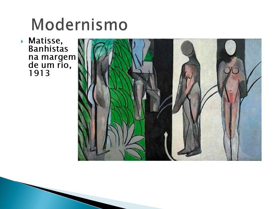Modernismo Matisse, Banhistas na margem de um rio, 1913