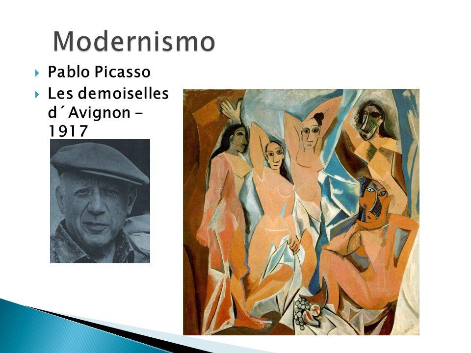 Modernismo Pablo Picasso Les demoiselles d´Avignon - 1917