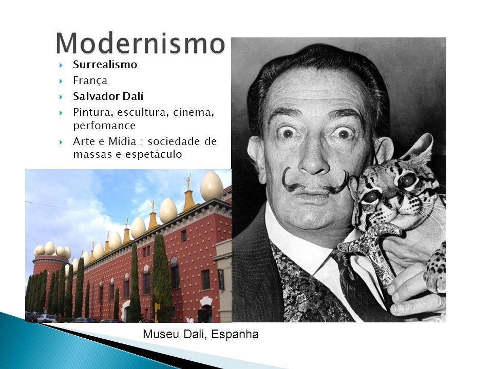 Modernismo Museu Dali, Espanha Surrealismo França Salvador Dalí