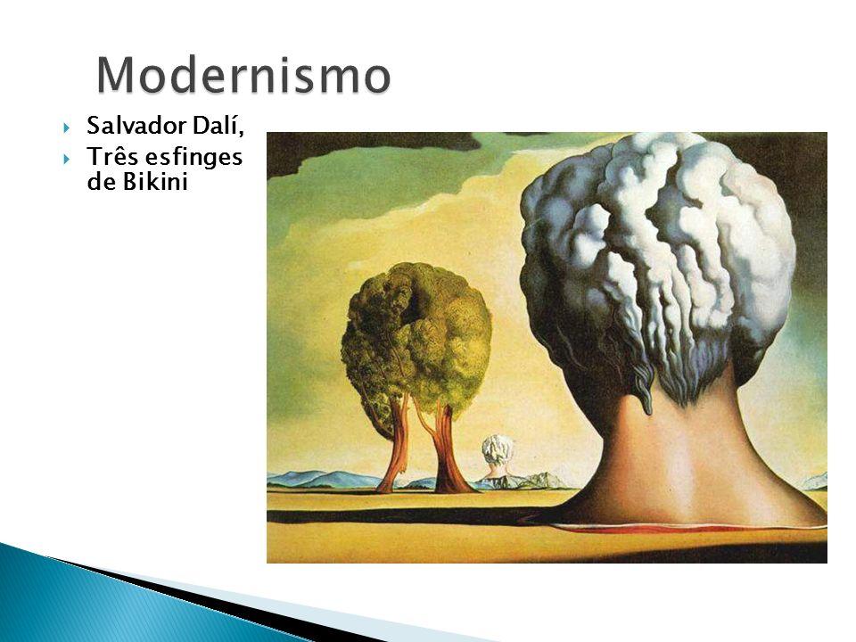 Modernismo Salvador Dalí, Três esfinges de Bikini