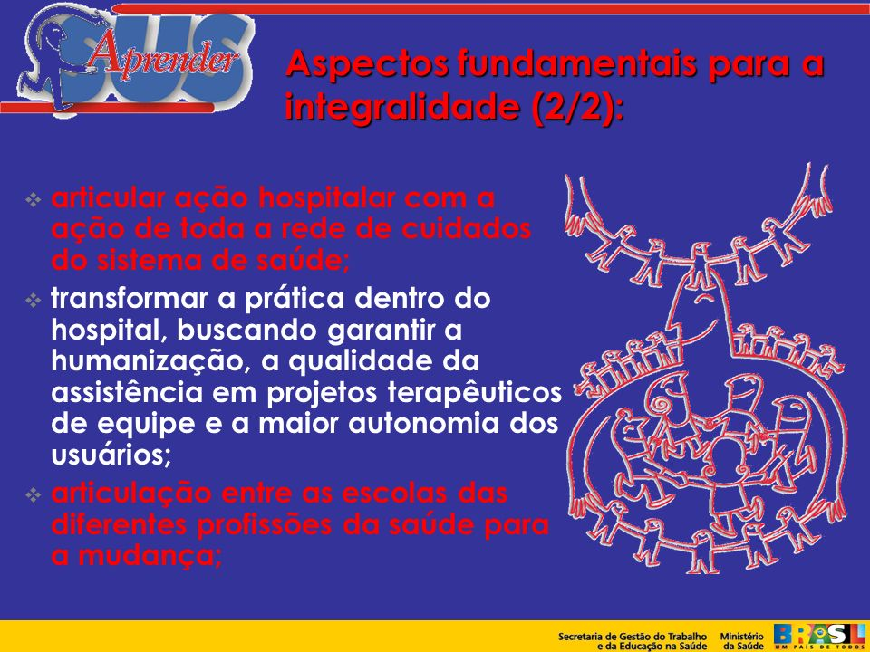 Aspectos fundamentais para a integralidade (2/2):