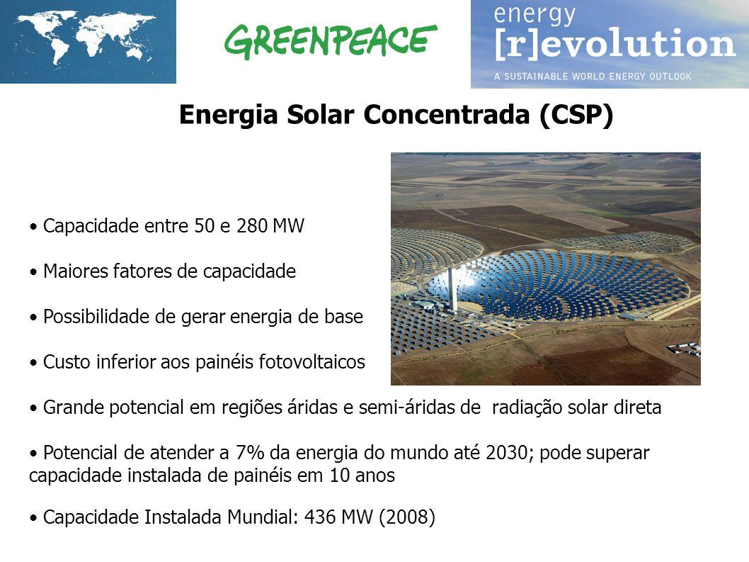 Energia Solar Concentrada (CSP)