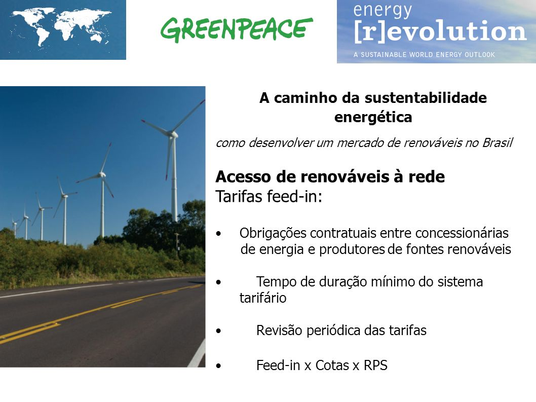 A caminho da sustentabilidade