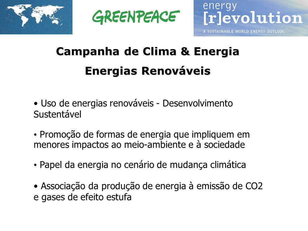 Campanha de Clima & Energia