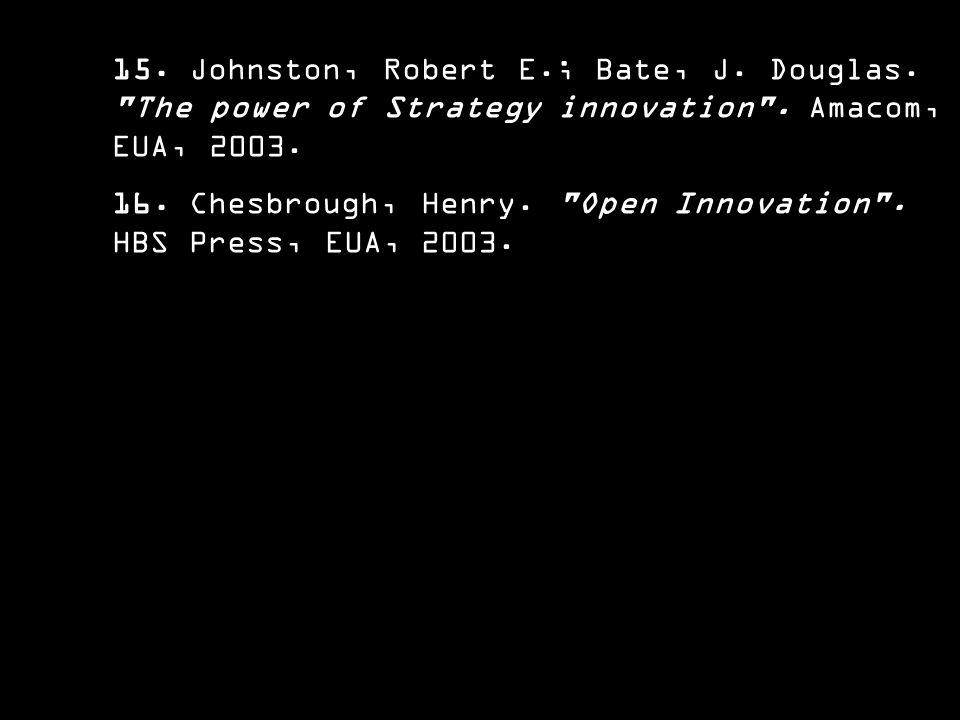 15. Johnston, Robert E. ; Bate, J. Douglas