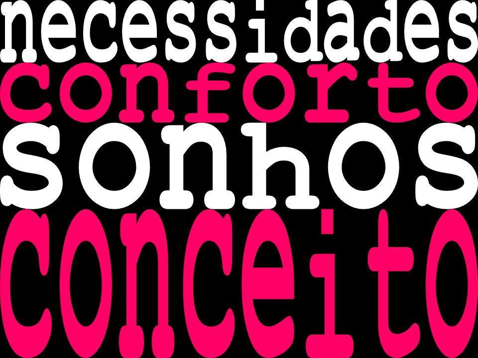 necessidades conforto sonhos conceito