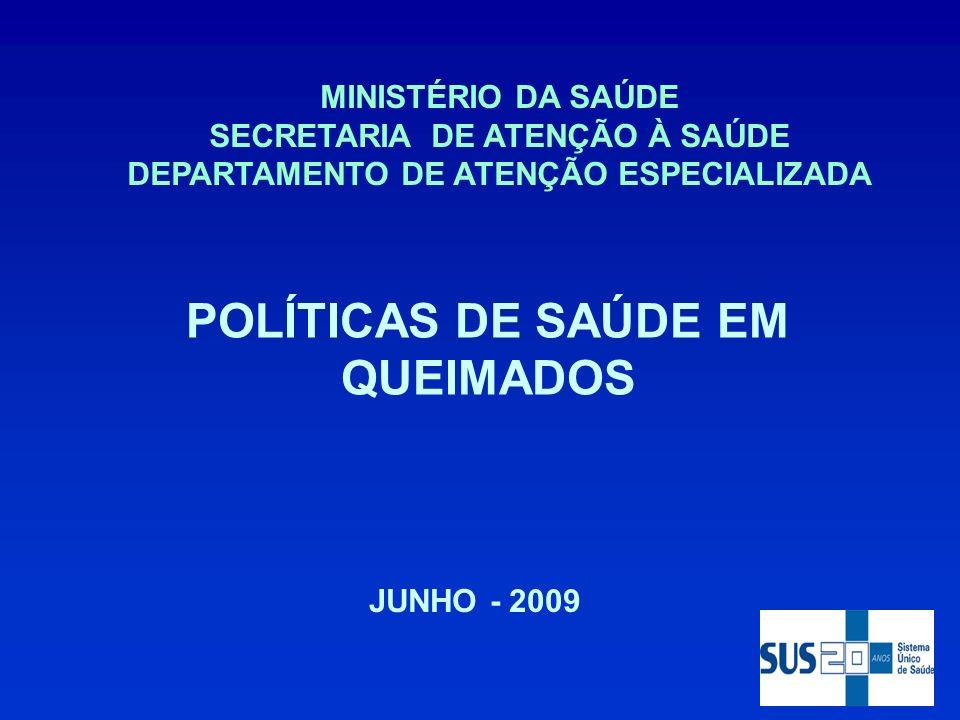 POLÍTICAS DE SAÚDE EM QUEIMADOS