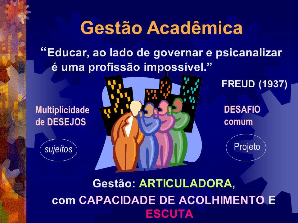 com CAPACIDADE DE ACOLHIMENTO E ESCUTA