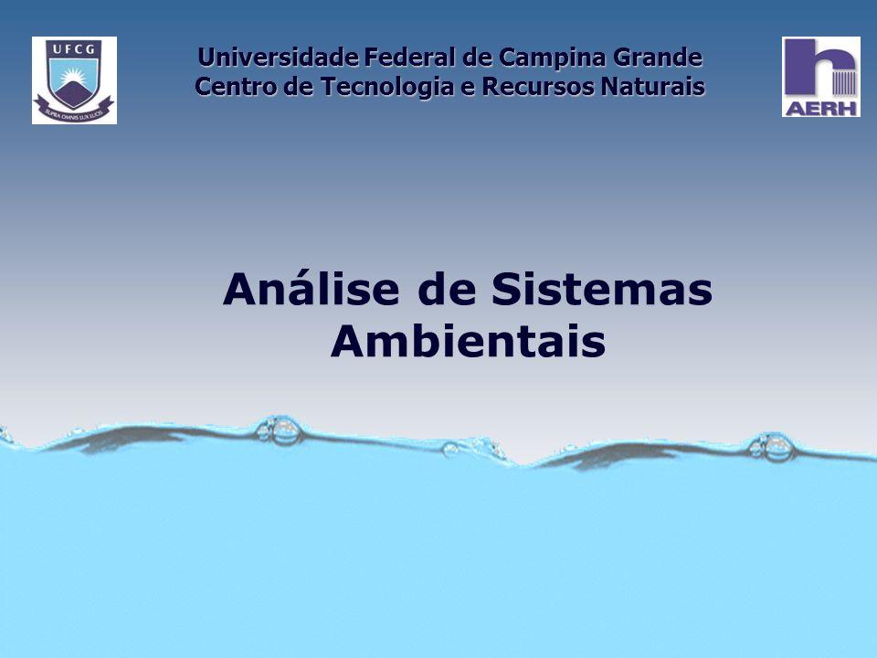 Análise de Sistemas Ambientais