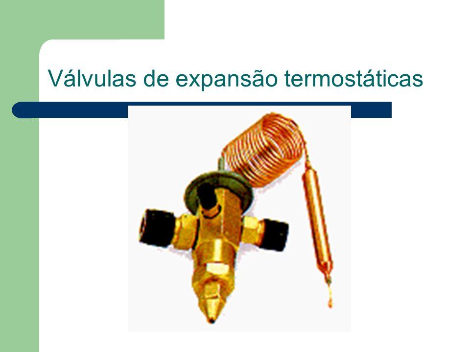 Válvulas de expansão termostáticas