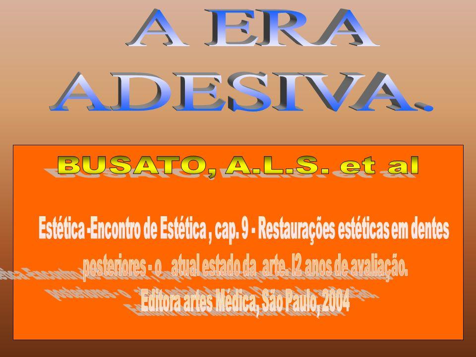 A ERA ADESIVA. BUSATO, A.L.S. et al