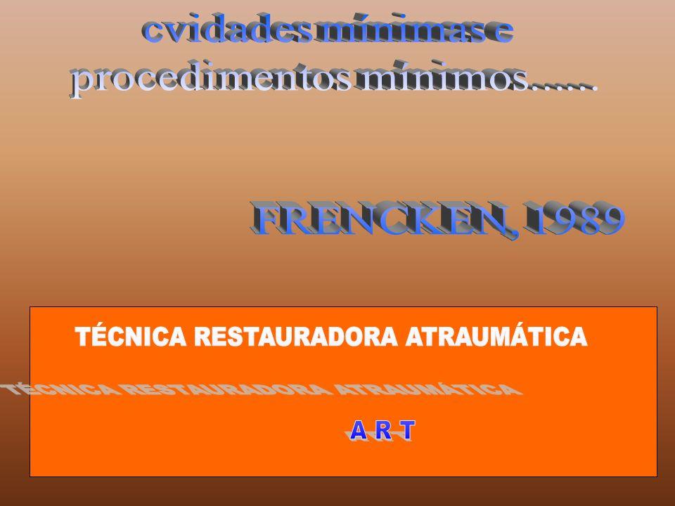 TÉCNICA RESTAURADORA ATRAUMÁTICA