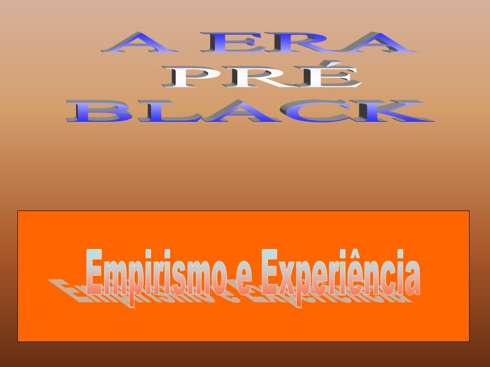Empirismo e Experiência