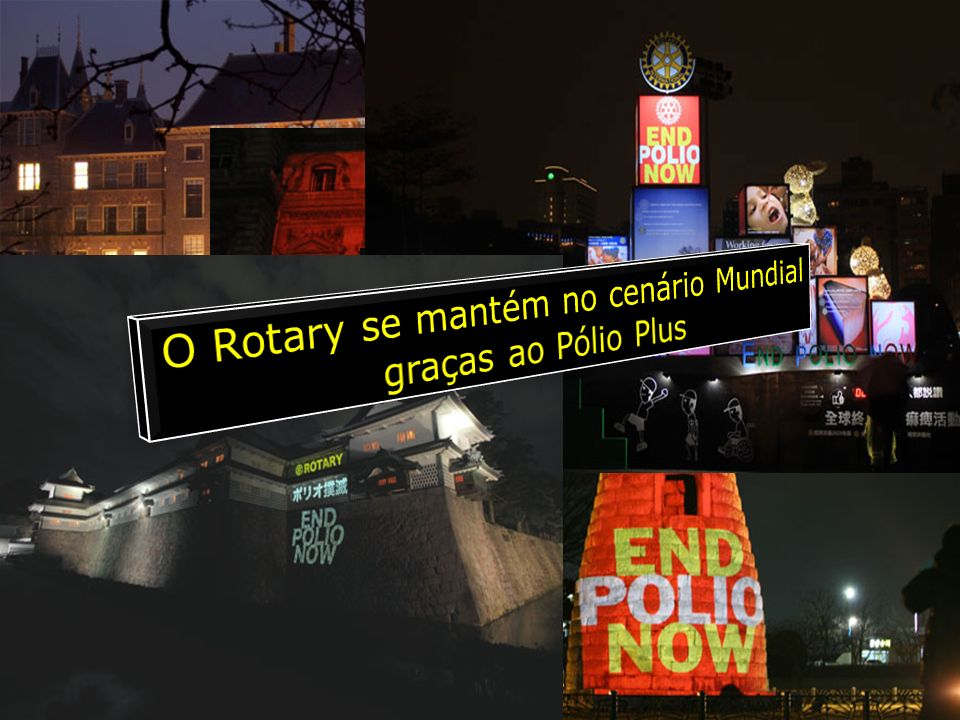 O Rotary se mantém no cenário Mundial