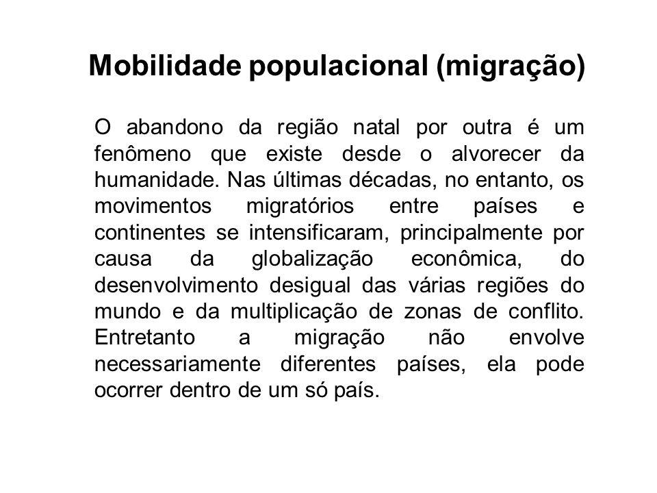 Mobilidade populacional (migração)
