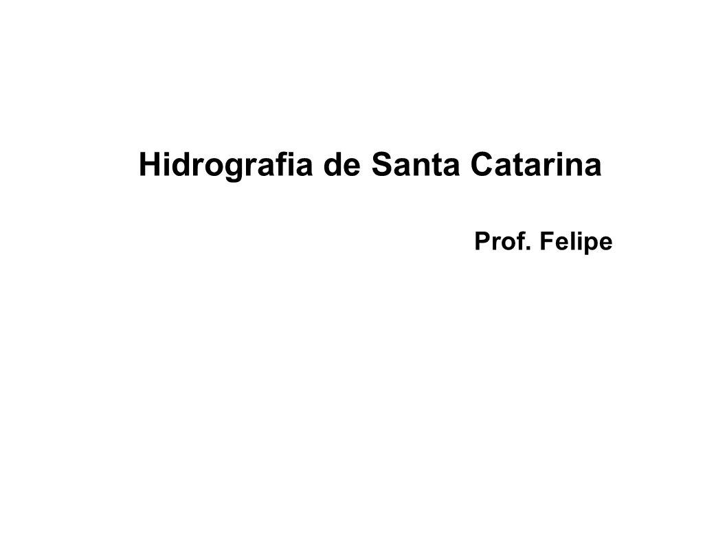 Hidrografia de Santa Catarina