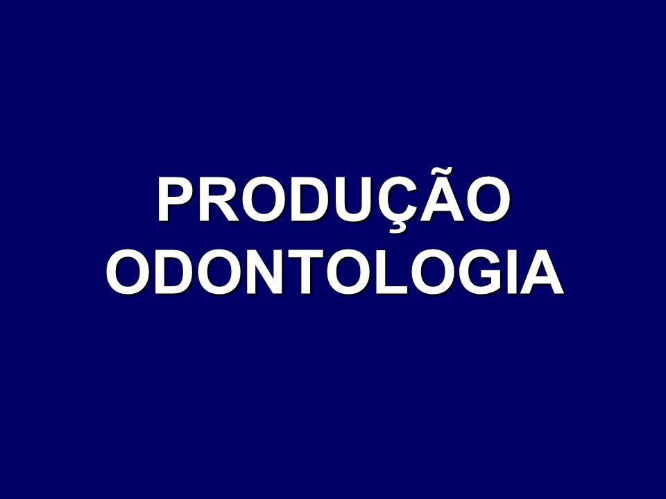 PRODUÇÃO ODONTOLOGIA