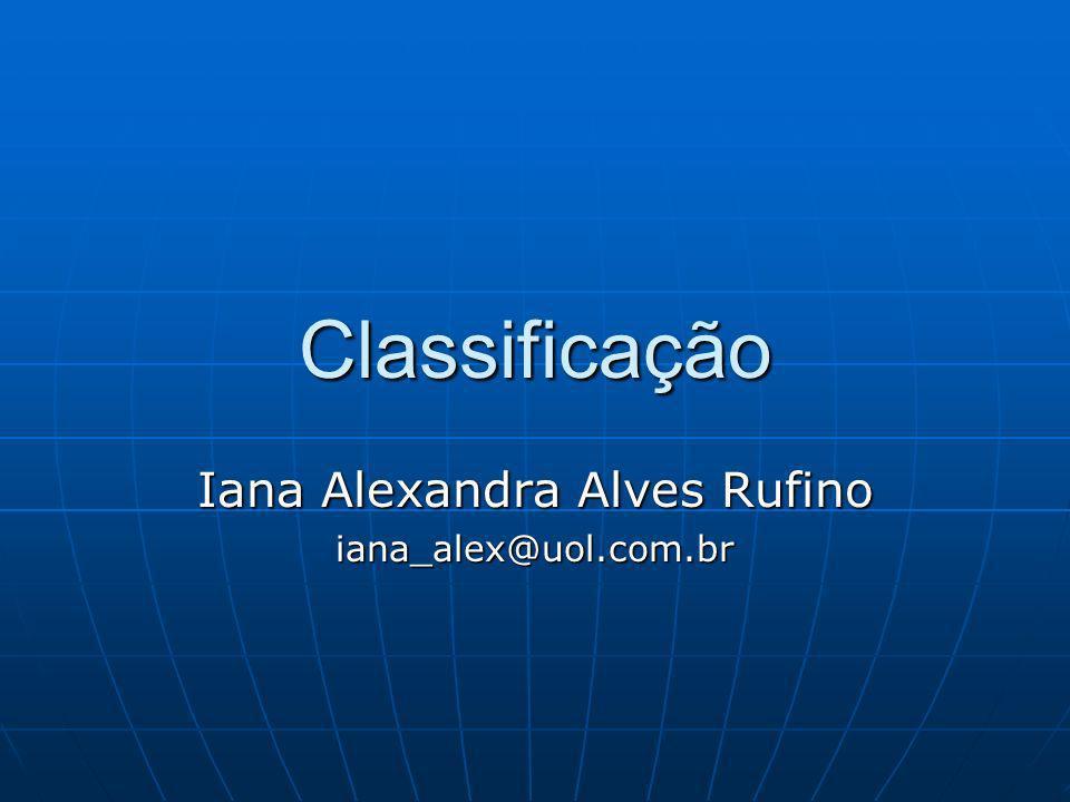 Iana Alexandra Alves Rufino iana_alex@uol.com.br