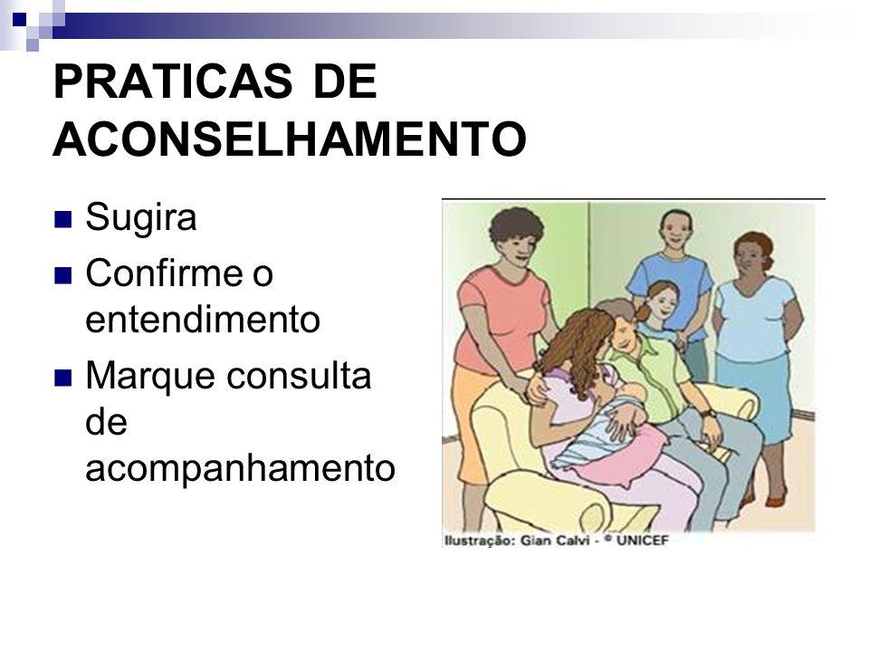 PRATICAS DE ACONSELHAMENTO