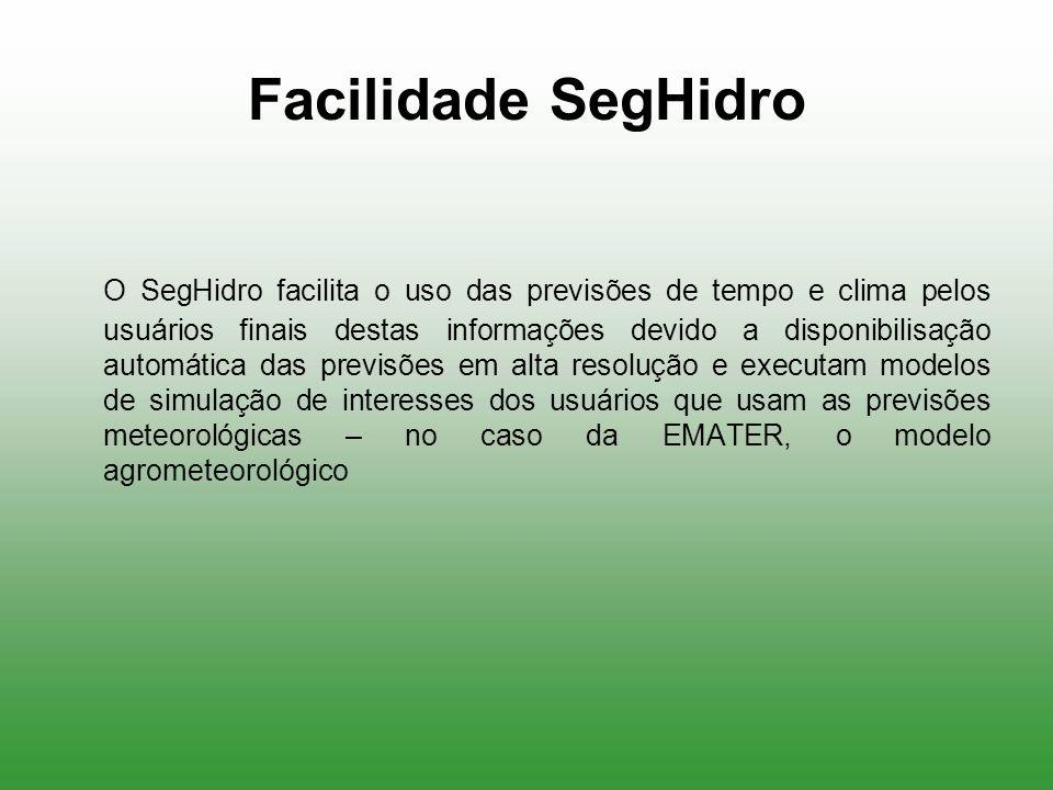 Facilidade SegHidro