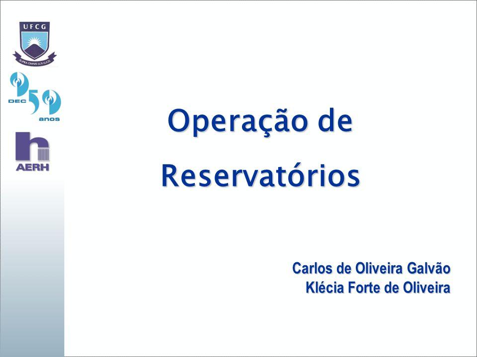 Operação de Reservatórios