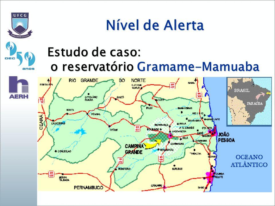 o reservatório Gramame-Mamuaba