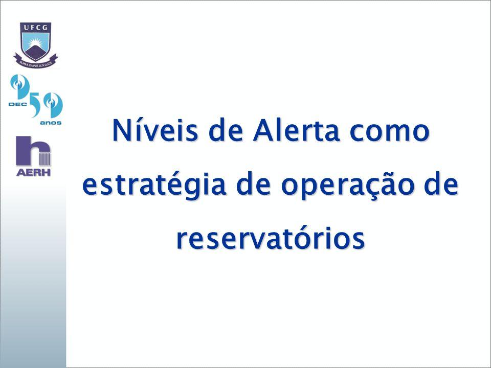estratégia de operação de reservatórios