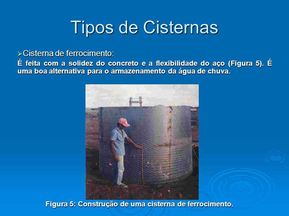 Tipos de Cisternas Cisterna de ferrocimento: