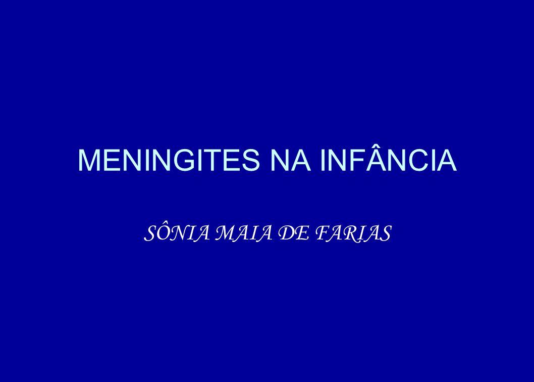MENINGITES NA INFÂNCIA