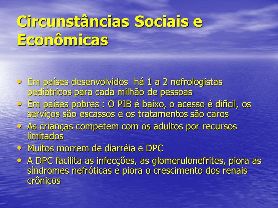 Circunstâncias Sociais e Econômicas