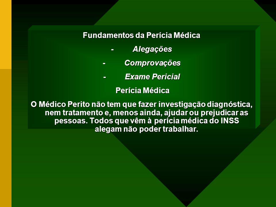 Fundamentos da Perícia Médica