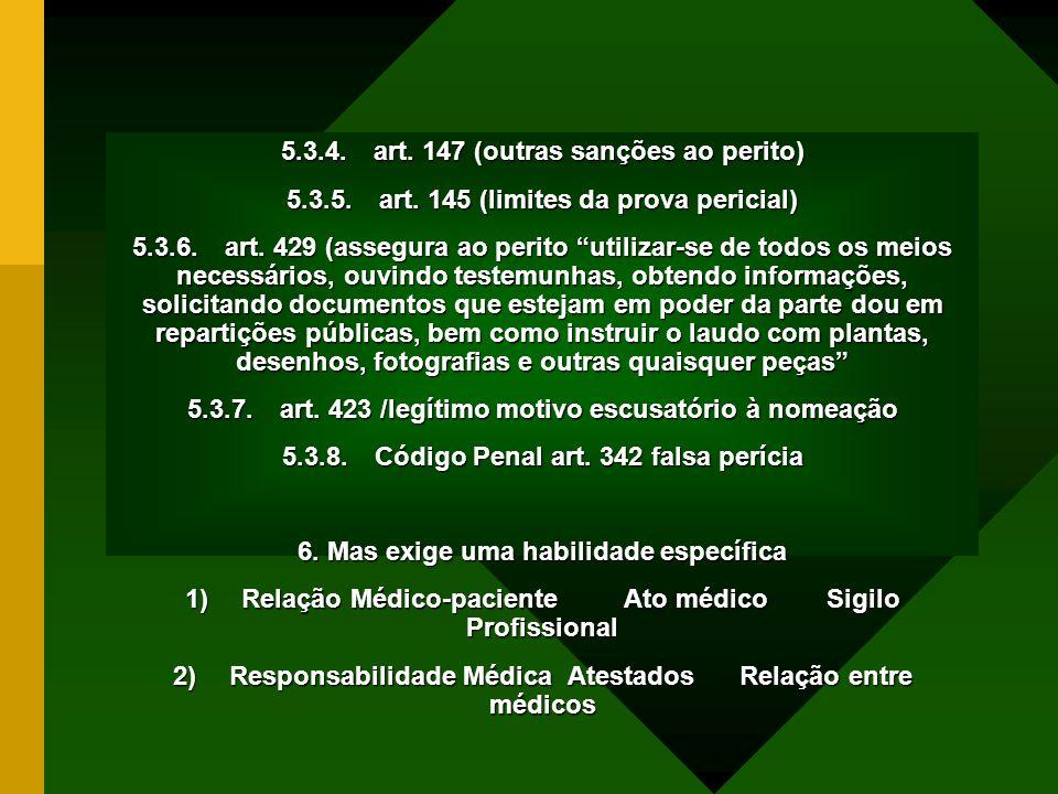 5.3.4. art. 147 (outras sanções ao perito)
