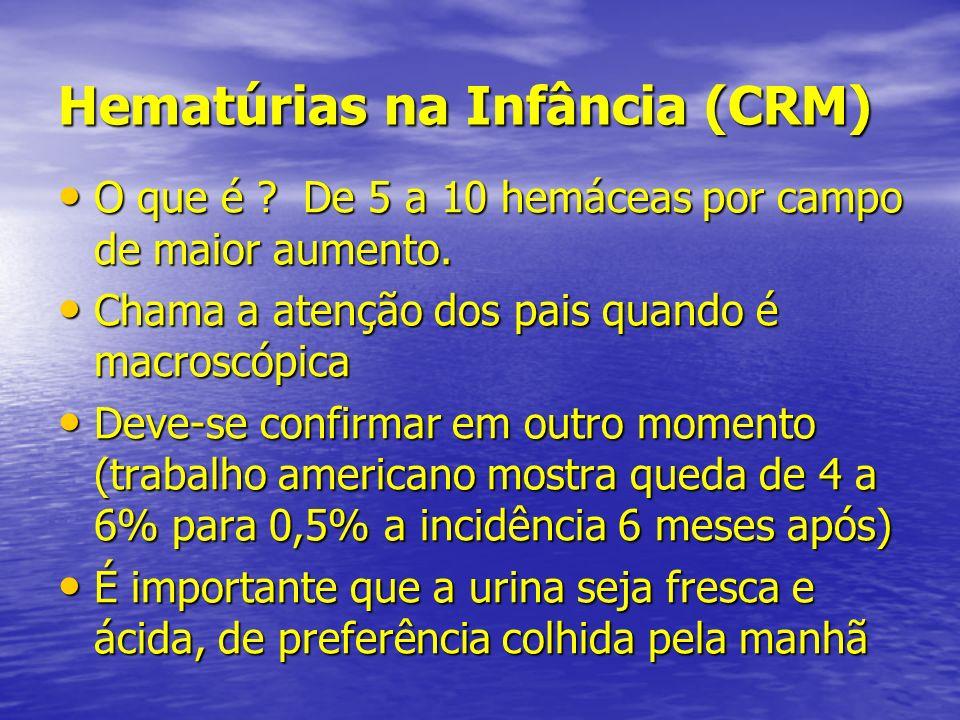 Hematúrias na Infância (CRM)