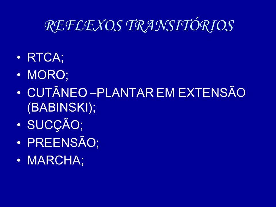 REFLEXOS TRANSITÓRIOS