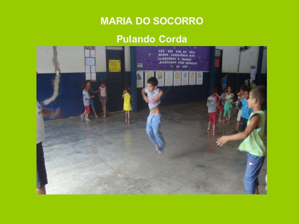 MARIA DO SOCORRO Pulando Corda