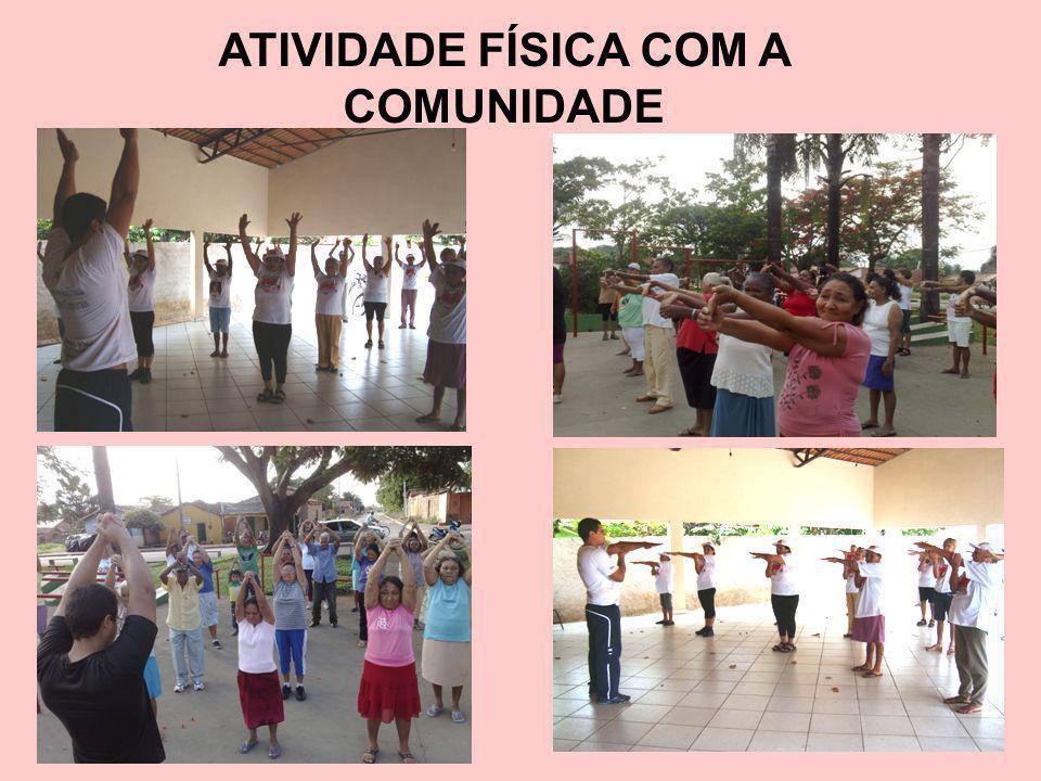 ATIVIDADE FÍSICA COM A COMUNIDADE