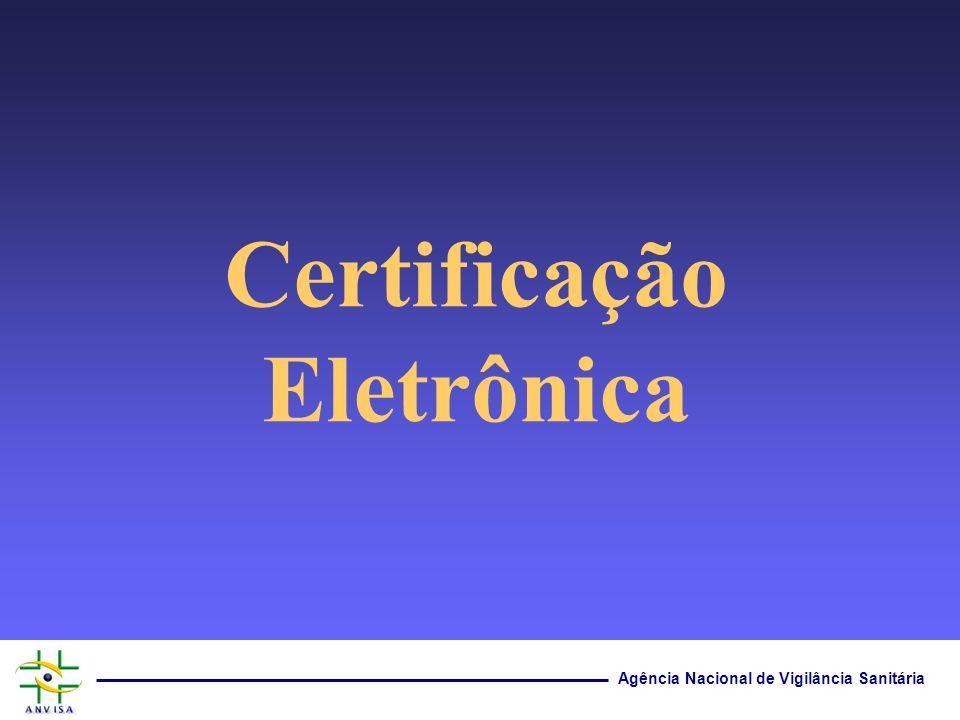 Certificação Eletrônica